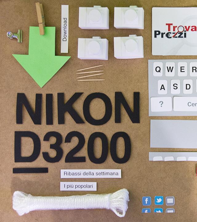 Monkey Talkie per trovaprezzi.it - papercraft - stop motion - passo due - spot web