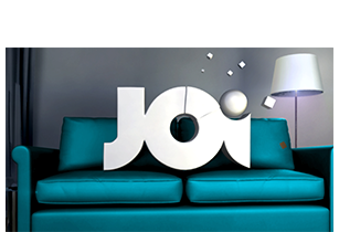 Monkey Talkie per Joi Comedy - Broadcast design - TV Branding - Promo - Idents - animazione 3d - character animation - projection mapping
