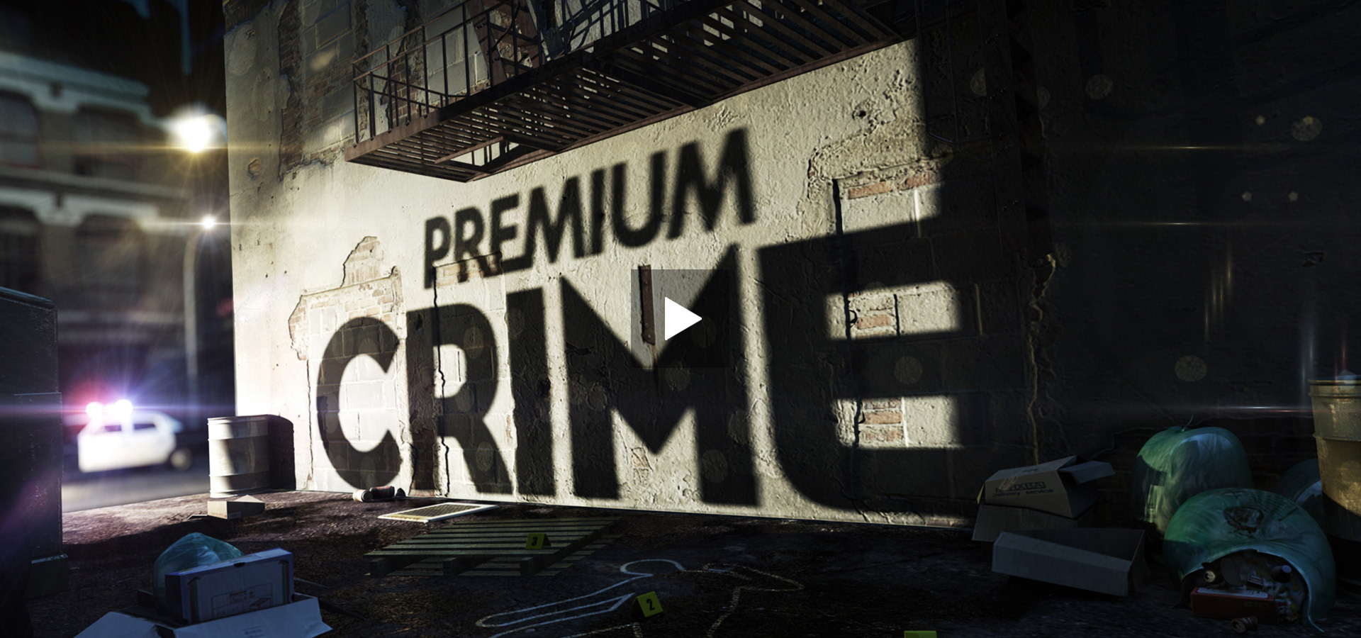 Monkey Talkie per Mediaset Premium Crime - Broadcast design - TV Branding - Promo - Idents
