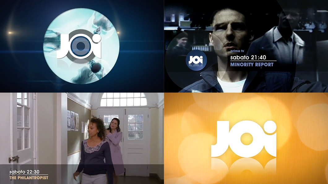 Monkey Talkie per Joi Comedy - Broadcast design - TV Branding - Promo - Idents - animazione 3d - character animation