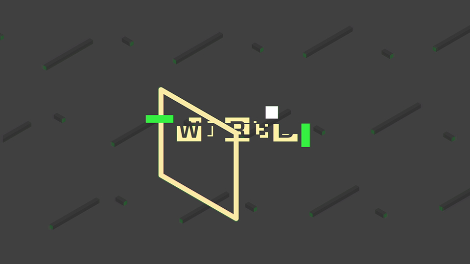 Monkey Talkie per Wired - Motiongraphics - Animazione 2d - Type Animation