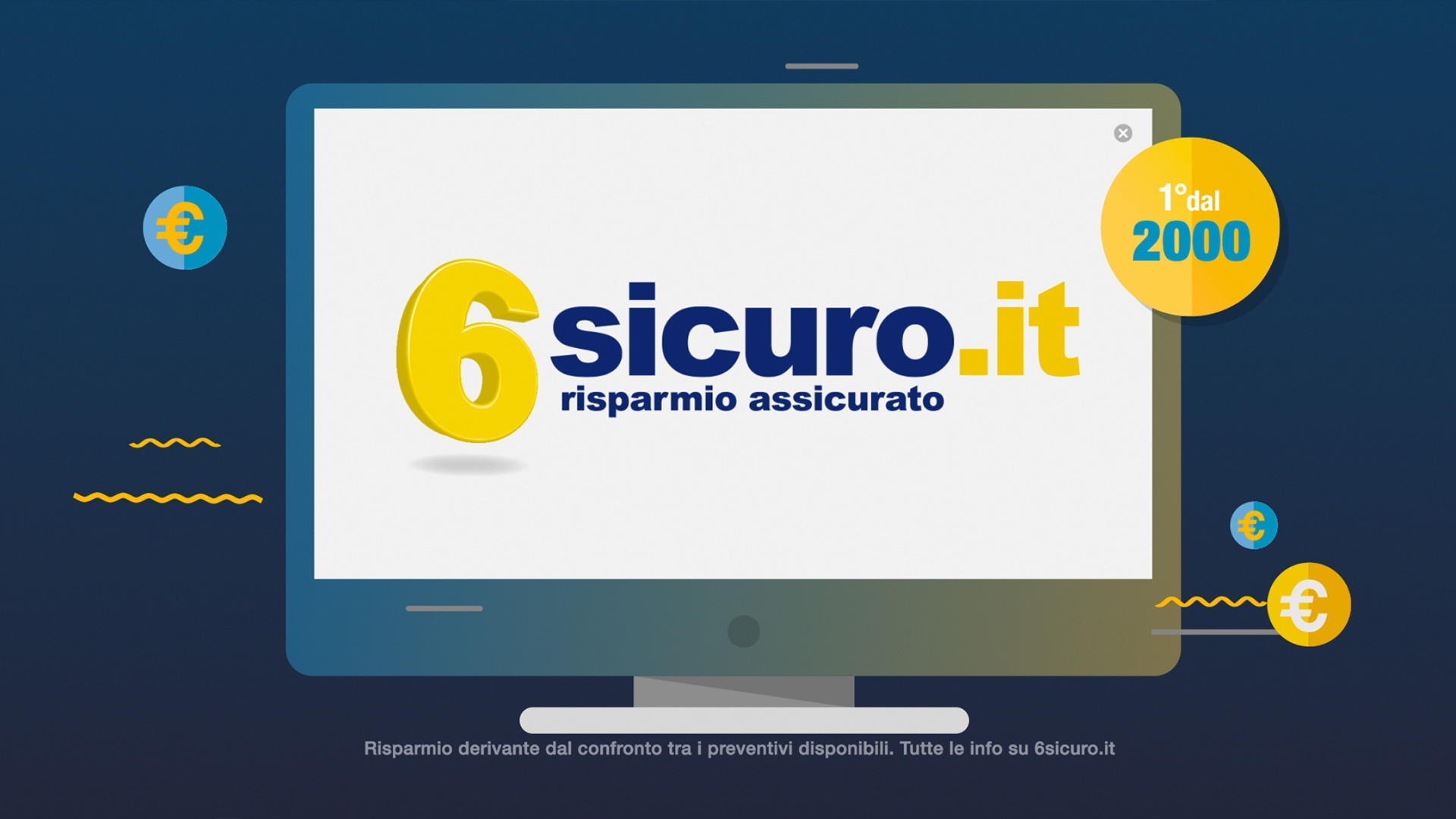 Monkey Talkie per 6sicuro.it - Spot TV - Commercial - Film - Produzione video - Spot per il web