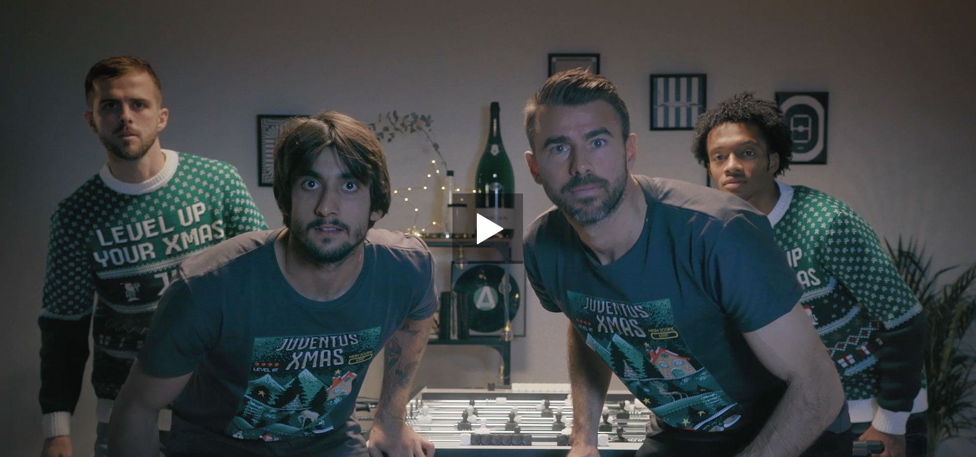 Juventus - Level Up Your Xmas - Produzione video - Commercial - Monkey Talkie