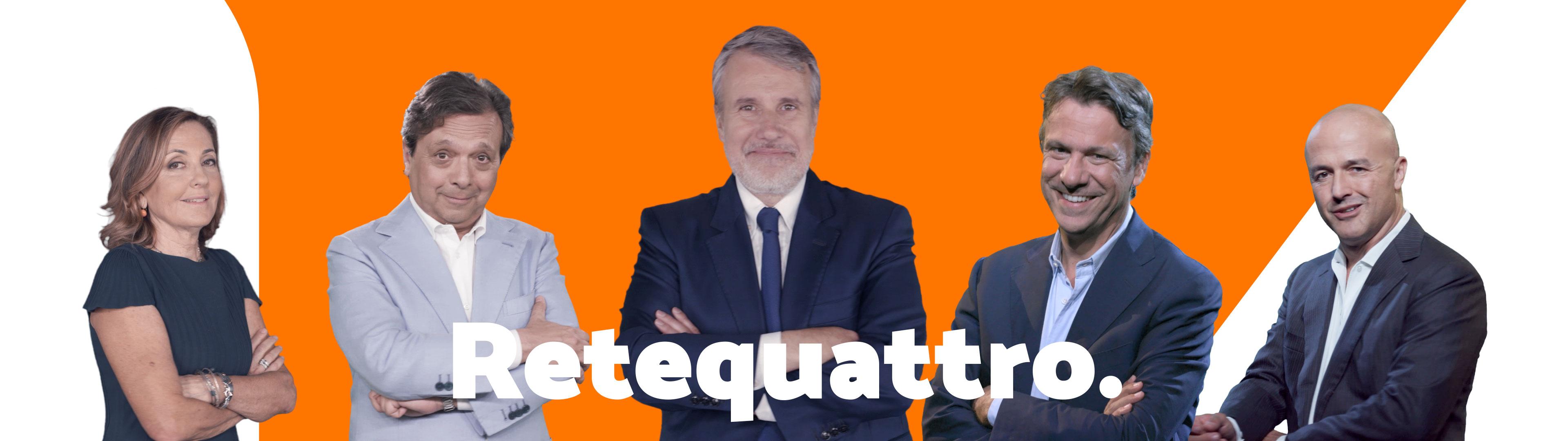 Mediaset Rete Quattro - channel branding