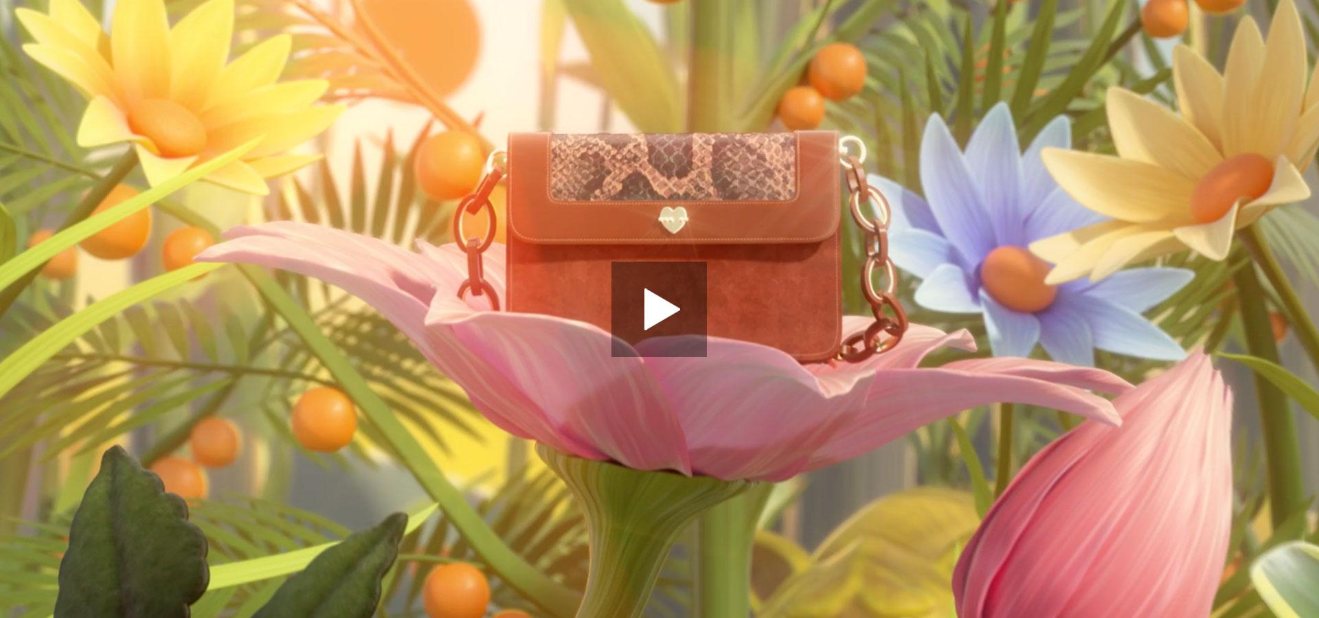 Motivi - Iconic Bag - Fashion Meets Art - Motion Graphics - Digital Compaign - 3d - Milano